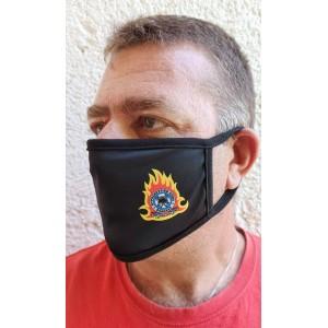 Μάσκα υφασμάτινη με λογότυπα