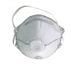 Μάσκα κυπελοειδής ενεργού άνθρακα 44/2C FFP2 με βαλβίδα