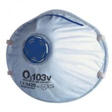 Μάσκα O2 BLS FFP3 NR D, με βαλβίδα